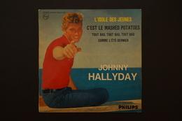 JOHNNY HALLYDAY L IDOLE DES JEUNES EP 1962 VARIANTE - 45 Rpm - Maxi-Single