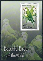 Bloc Sheet Oiseaux Perroquets Birds Parrots  Neuf  MNH ** Lesotho 2007 - Papagayos