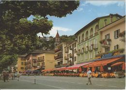 Ascona - La Piazza, Albergo Schiff, Ristorante Cafe - Photo: Engelberger - TI Tessin