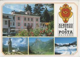 Albergo Olivone & Posta - Olivone - Photo: Engelberger - TI Tessin