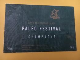 8767 -  Paléo Festival Nyon Suisse Champagne - Musik