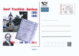 Rep. Ceca / Cart. Postali (Pre2011/08) Josef Frantisek Smetana (1801-1861) Insegnante Ceco, Autore Di Libri Di Testo - Teologi