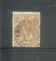 Kleinrond Amsterdam 14 Op Nvph 64 - 1891-1948 (Wilhelmine)