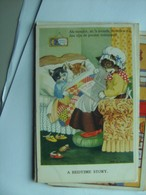 Poezen Katten Cats Chats Katzen Bedtime Story Howe - Geklede Dieren