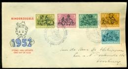 Nederland 1952 FDC Kinderzegels Met Adres E11 - FDC
