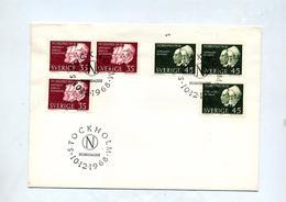 Lettre Cachet Stockholm Prix Nobel - Lettres & Documents