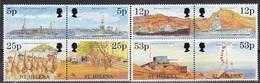 St Helena - END OF WWII / SHIPS / CAR / ARMY 1995 MNH - Saint Helena Island