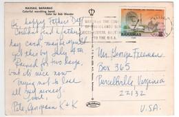 """Stamp , Timbre """" Radio Téléphone """" Sur Carte , Postcard De 1976 - Bahamas (1973-...)"""