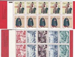 Sweden - 2 Booklets.  T-124 - Blocks & Sheetlets