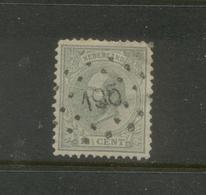 Puntstempel 195 (Gemert) Op Nvph 22 - Periode 1852-1890 (Willem III)