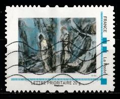Timbre Personnalisé : Peinture Abstraite - Personalized Stamps (MonTimbraMoi)