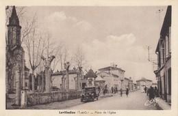 Lavilledieu.  Place De L'église - Autres Communes