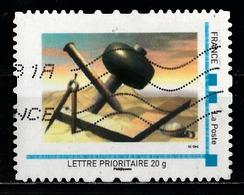 Timbre Personnalisé : Peinture Moderne - France