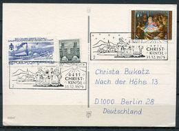 """Österreich/Austria 1979 Christkindl Sonderkarte Mit Mi.Nr.1630 Und SST""""4411/2 CHRISTKINDL""""1 Karte - Weihnachten"""