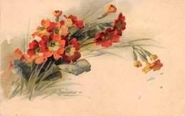"0298 ""CATERINE KLEIN - ROSA ALPINA""   CART  NON SPED - Fleurs"