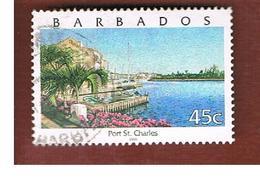BARBADOS - MI 974  -   2000  PORT ST. CHARLES                                   -  USED° - Barbados (1966-...)