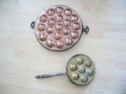2x  Pfannkuchen Backformen (531) - Andere Sammlungen