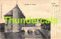 CPA CHATEAU DE CRUPET VALLEE DU BOCQ NELS SERIE 2 NO 1 - Assesse