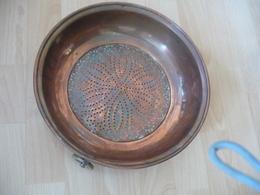 Kupfer-Sieb Mit Aufhängering (Messing) (532) - Andere Sammlungen