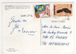 2 Stamps , Timbres  Sur Carte , Postcard De 1993 - Bahamas (1973-...)