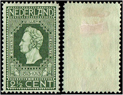 Netherlands.1913 The 100th Anniversary Of Independence. 2 1/2c. MH - Period 1891-1948 (Wilhelmina)