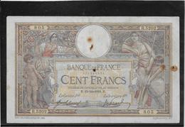 France 100 Francs Merson - 27-6-1917 - Fayette N°23-9 - TB - 1871-1952 Anciens Francs Circulés Au XXème