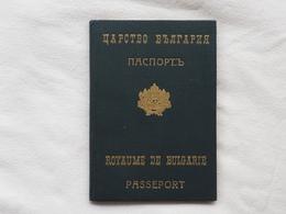 Passeport Royaume De BULGARIE 1939 Diplomatic Visas Magyar Trei Reich USA France Suisse Romania Reisepass Pasaporte  179 - Historische Dokumente