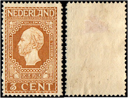 Netherlands.1913 The 100th Anniversary Of Independence. 3c. MH - Period 1891-1948 (Wilhelmina)
