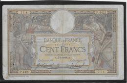 France 100 Francs Merson - 7-1-1918 - Fayette N°23-10 - B/TB - 100 F 1908-1939 ''Luc Olivier Merson''