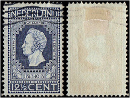 Netherlands.1913 The 100th Anniversary Of Independence. 12 1/2c. Cancelled - 1891-1948 (Wilhelmine)