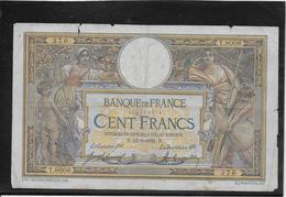 France 100 Francs Merson - 12-9-1921 - Fayette N°23-14 - B - 1871-1952 Anciens Francs Circulés Au XXème