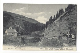 20489 - Gruss Vom Bad Peiden Bünd. Oberland - GR Grisons