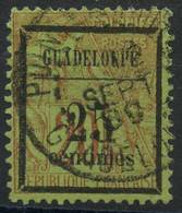 Guadeloupe (1884) N 5 (o) - Oblitérés