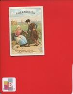 EN L ETAT Calendrier Petit Format Weesp VAN HOUTEN ZOON Couverture Uniquement Hollande Patinage Glace Patins  Pêcheur - Calendriers