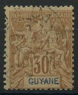 Guyane (1892) N 38 (o) - Guyane Française (1886-1949)