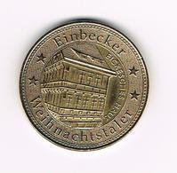 &  PENNING  EINBECKER  WEIHNACHTSTALER  EICKESCHES HAUS 2004 - Pièces écrasées (Elongated Coins)