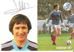 LEONARD SPECHT. CP Autographe Pub Adidas - Calcio