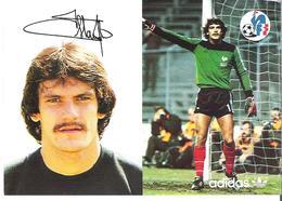 JEAN CASTANEDA. CP Autographe Pub Adidas - Calcio
