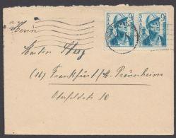 Mi-Nr. 247, MeF Mit 2 Werten Auf Bedarfsbrief - 1947-56 Allierte Besetzung