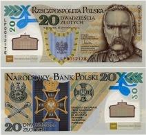 POLAND       20 Zlotych       Comm.    P-187      16.1.2014      UNC  [ WITHOUT FOLDER ] - Poland