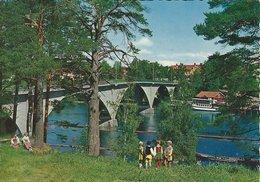 Sweden - Leksand - Bron över Dalälven. Sent To Denmark  # 07995 - Sweden