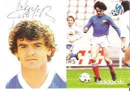 OLIVIER ROUYER.  CP Autographe Pub Adidas - Calcio