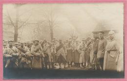 Guerre 14/18 - West-Vlaanderen - Flandre Occidentale - Carte Photo - Foto - Gefangene Franzozen - Prisonniers Français - Oorlog 1914-18