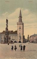 KAADEN (Böhmen) - Ringplatz, Gel.1908 - Böhmen Und Mähren