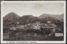 LIGURIA - S. OLCESE VIGOMORASSO - PANORAMA - FORMATO PICCOLO - ED. ARIZONA - VIAGGIATA 1934 - Italia