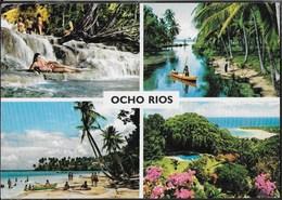 JAMAICA - OCHO RIOS - VIAGGIATA 1995 - Cartoline