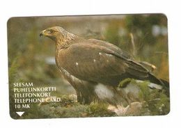 FINLAND  Magnetic Phonecard EAGLE - Finland
