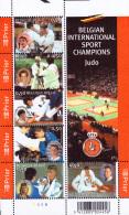 Belgium BL 121**  Le Judo En Belgique  MNH - Faciale 3€ - Blocs 1962-....