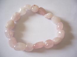 Rosenquarz Zugarmband  (540) - Pink Quartz