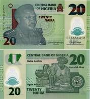 NIGERIA       20 Naira       P-34[n]       2018        UNC - Nigeria